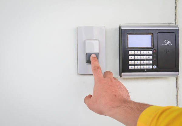 Types of security solutions alarm activations