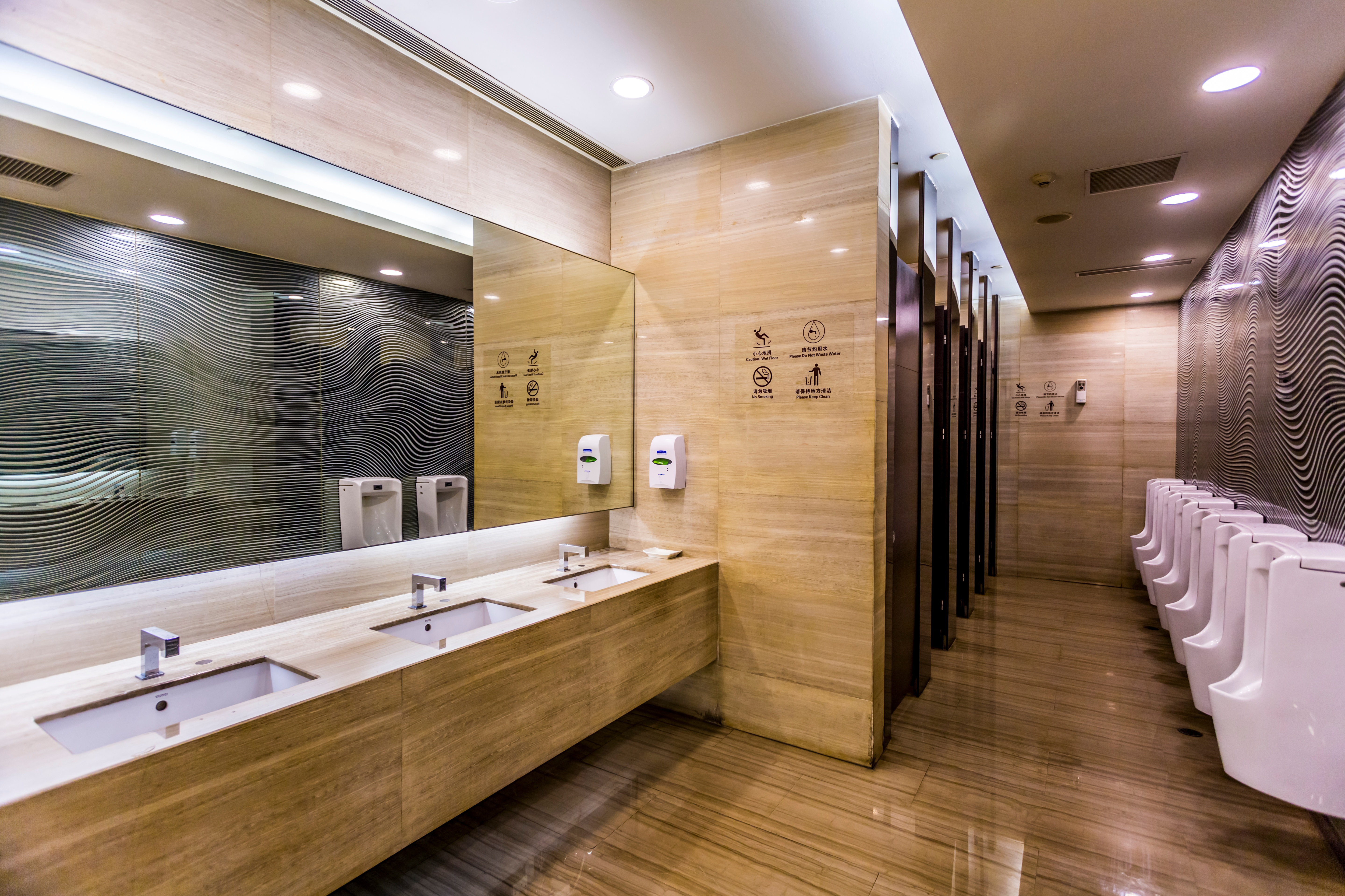 How To Properly Clean Your Financial Institution Building's Washrooms