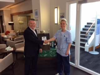 WINNS supporting Macmillan Coffee Morning at Genesis Healthcare
