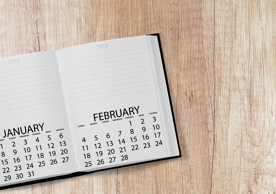 Planning Ahead In The New Year